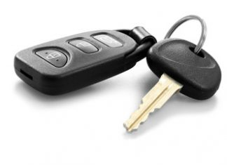 The New Spying Video Camera Car Key Holder