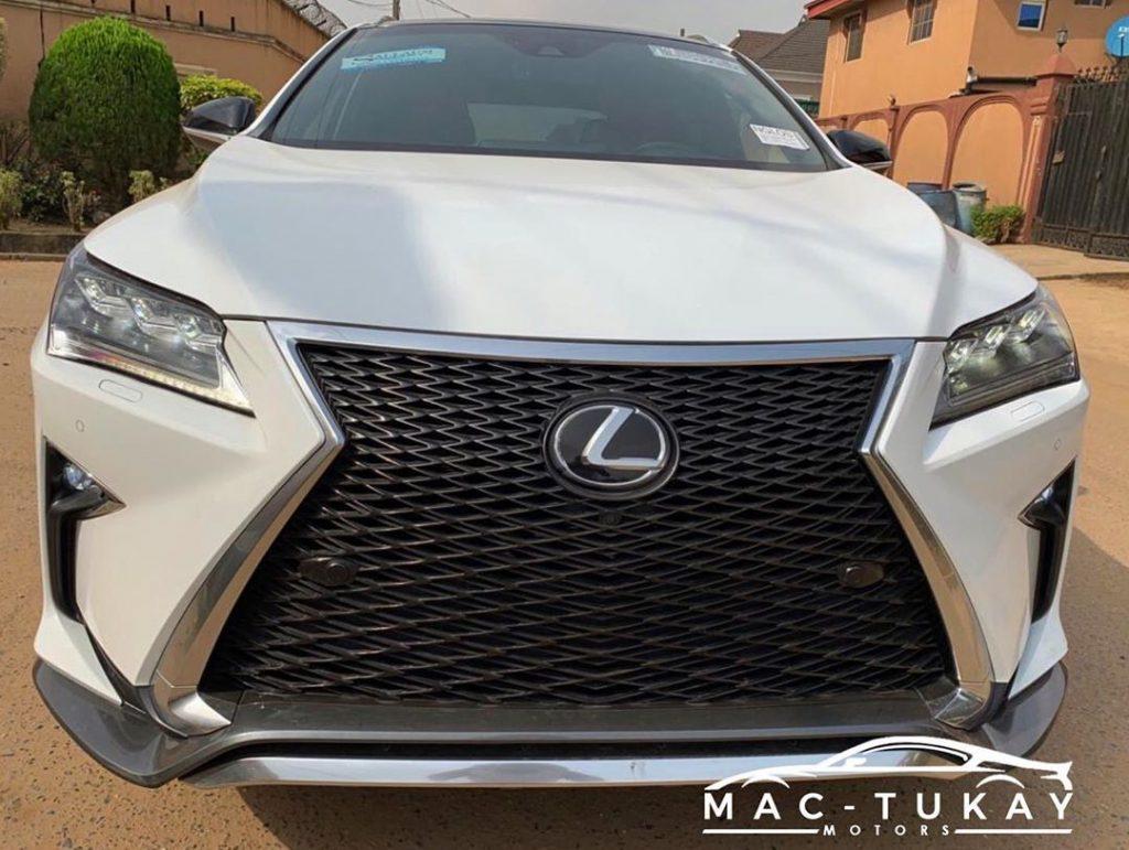lexus rx 350 price in nigeria