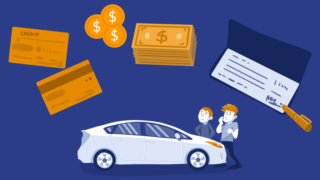 how to make car payment