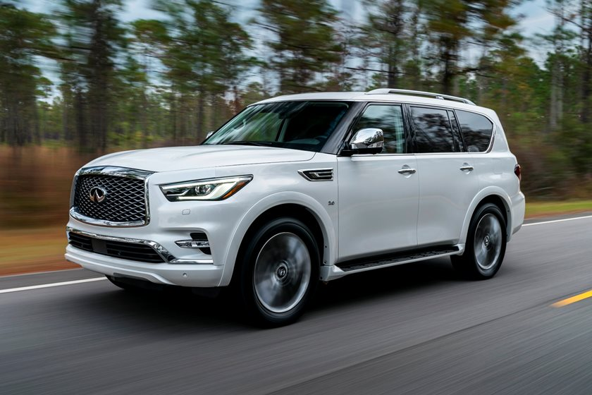 Infiniti QX80 latest car in Nigeria