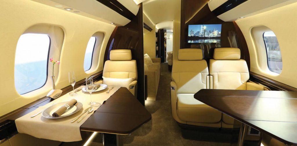 dangote private jet